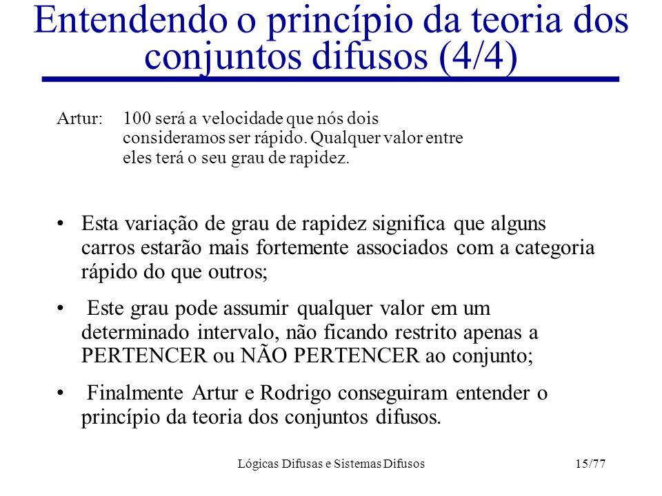Entendendo o princípio da teoria dos conjuntos difusos (4/4)