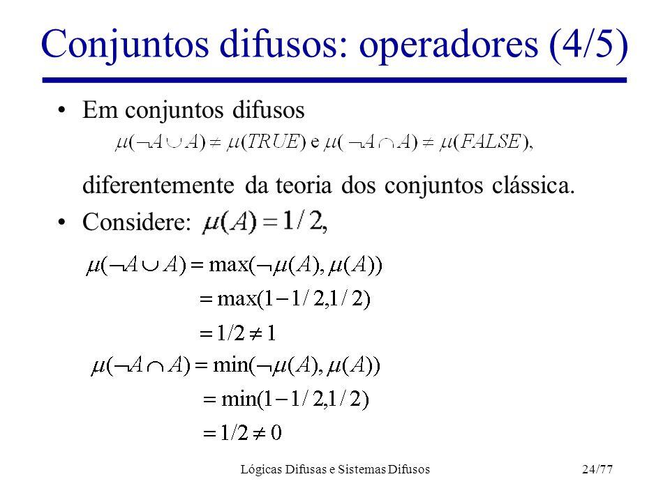 Conjuntos difusos: operadores (4/5)