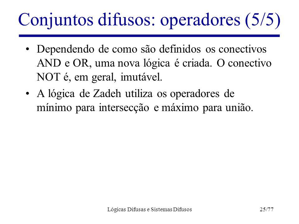 Conjuntos difusos: operadores (5/5)