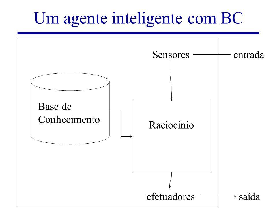 Um agente inteligente com BC