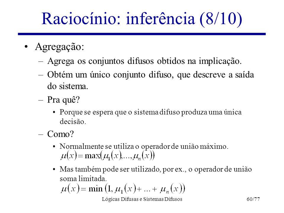 Raciocínio: inferência (8/10)
