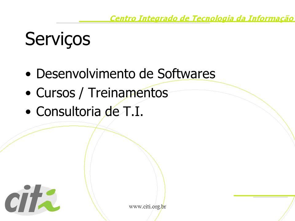 Serviços Desenvolvimento de Softwares Cursos / Treinamentos