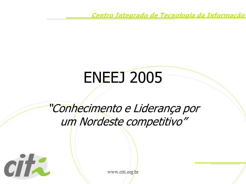 Conhecimento e Liderança por um Nordeste competitivo