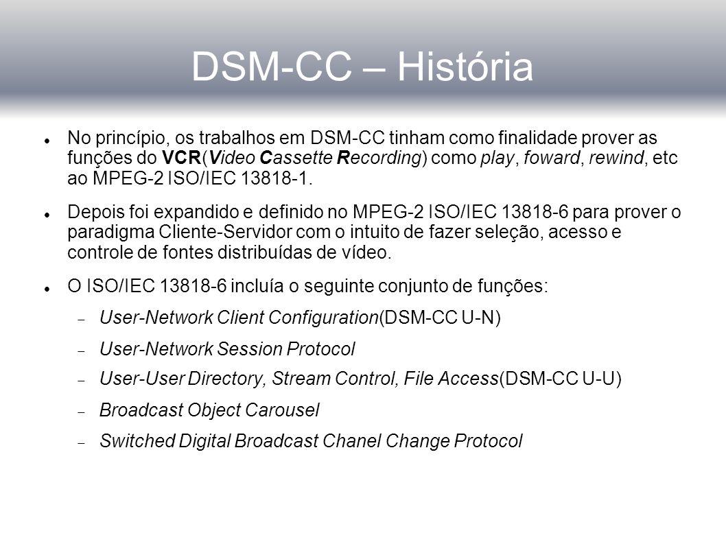 DSM-CC – História