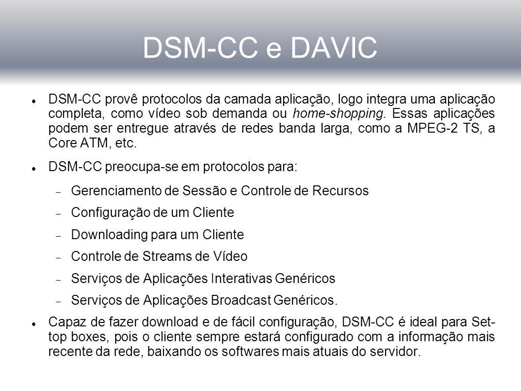 DSM-CC e DAVIC