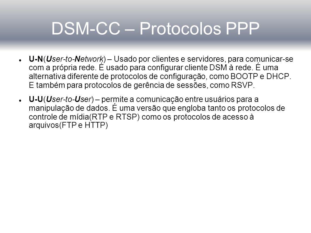DSM-CC – Protocolos PPP
