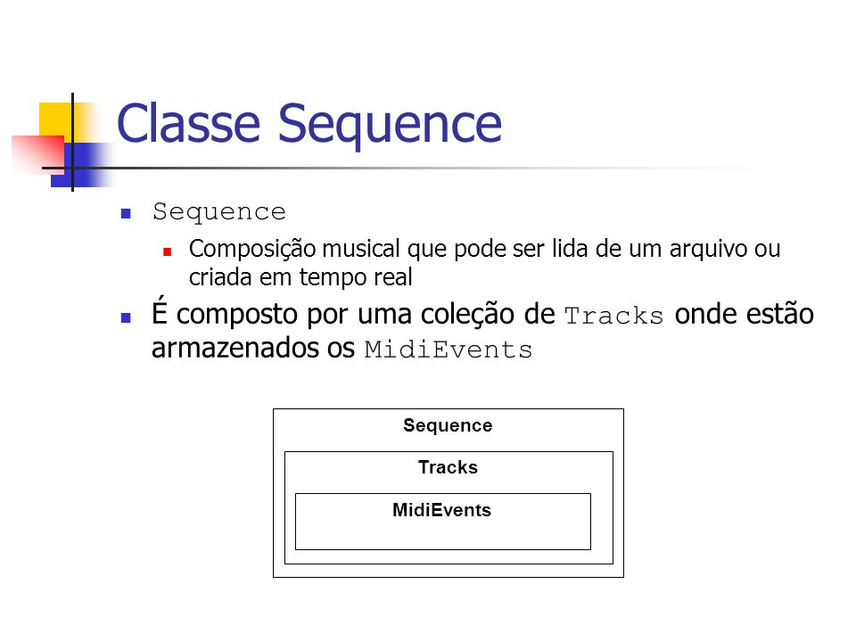 Classe Sequence Sequence