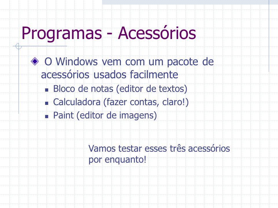 Programas - Acessórios