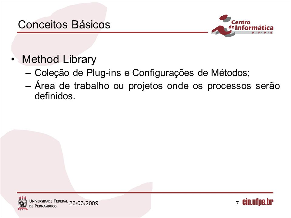 Conceitos Básicos Method Library