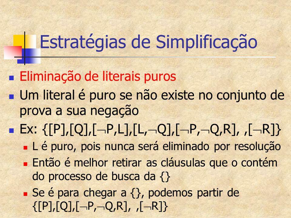 Estratégias de Simplificação