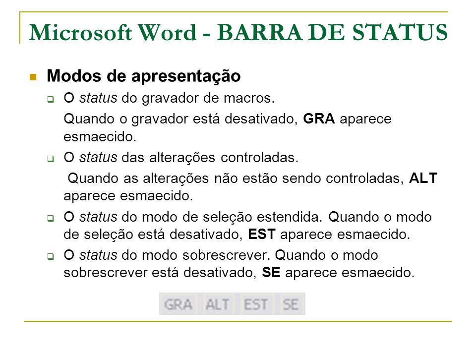 Microsoft Word - BARRA DE STATUS