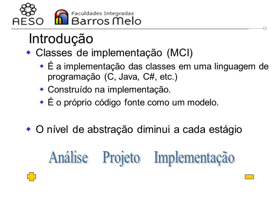 Análise Projeto Implementação