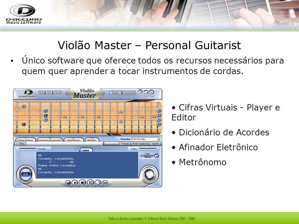 Violão Master – Personal Guitarist