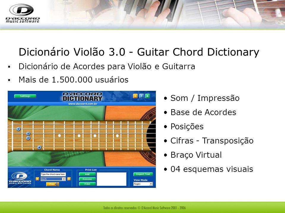 Dicionário Violão 3.0 - Guitar Chord Dictionary