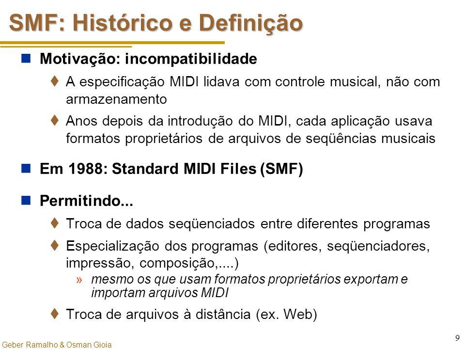 SMF: Histórico e Definição