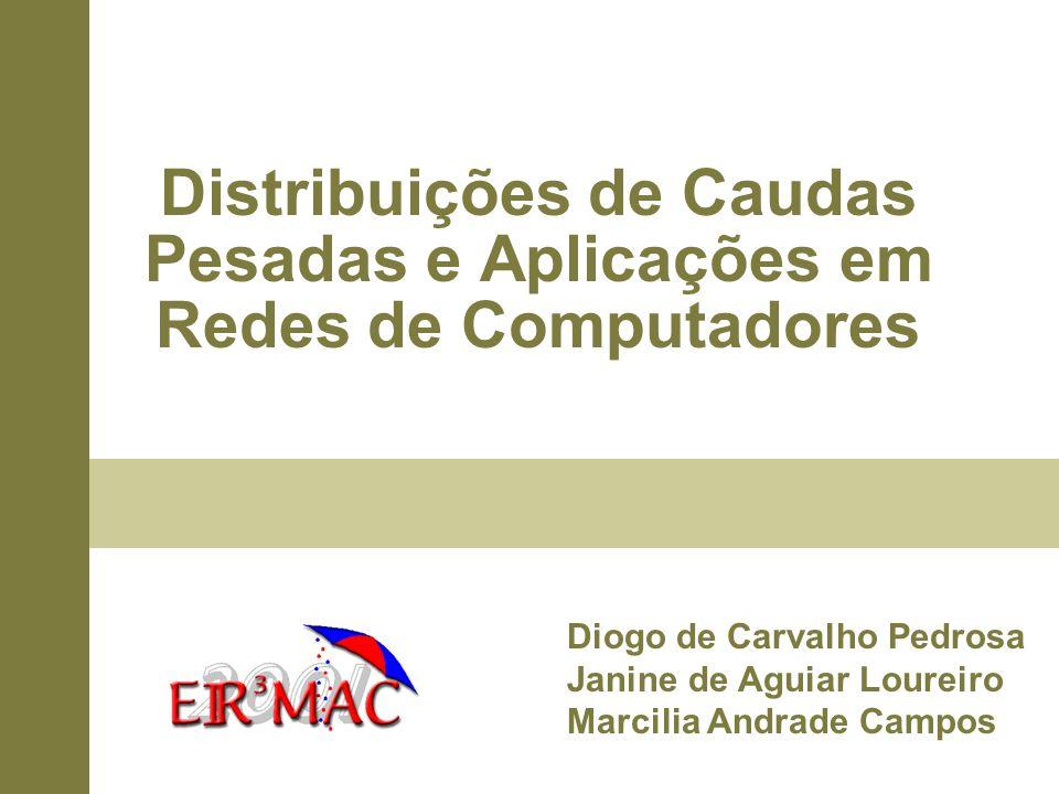 Distribuições de Caudas Pesadas e Aplicações em Redes de Computadores