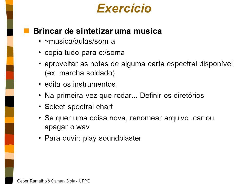 Exercício Brincar de sintetizar uma musica ~musica/aulas/som-a