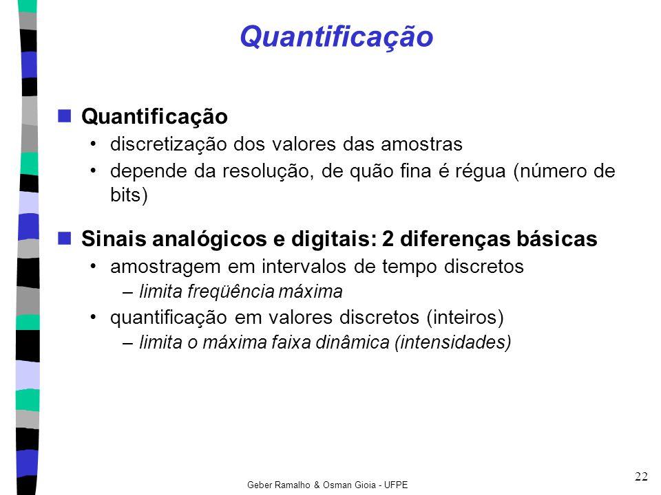 Quantificação Quantificação