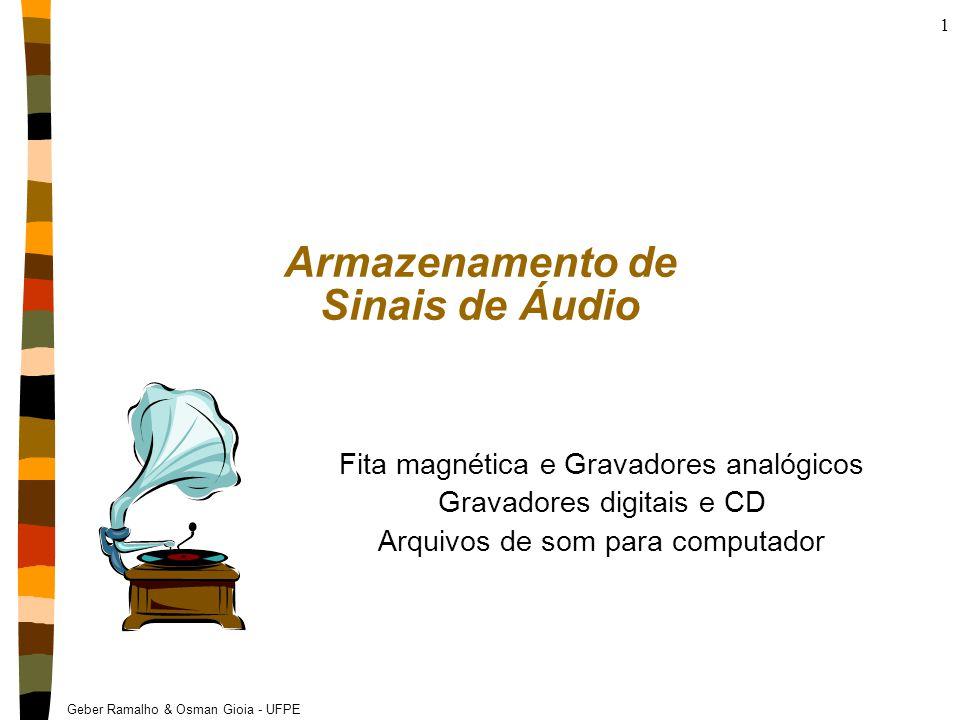 Armazenamento de Sinais de Áudio