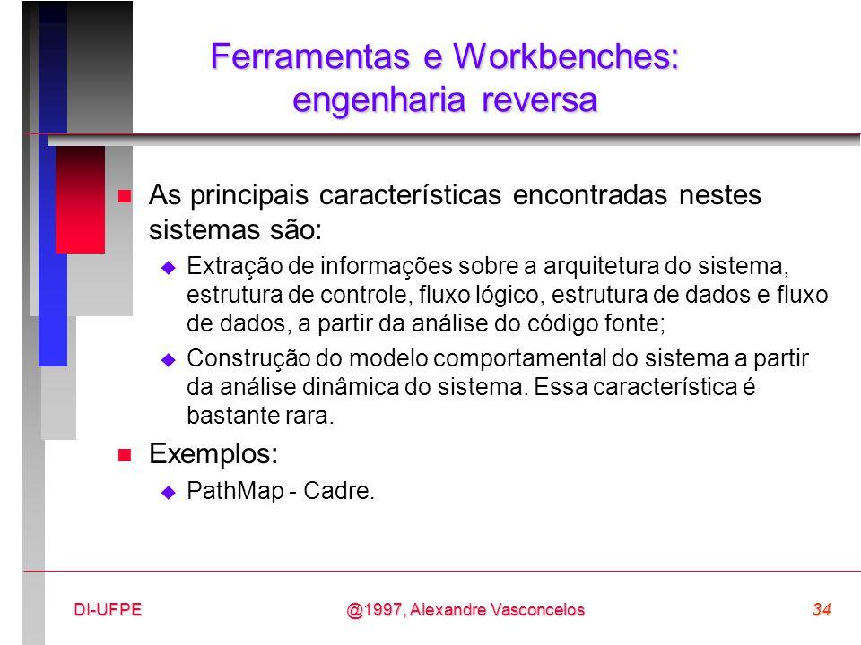 Ferramentas e Workbenches: engenharia reversa