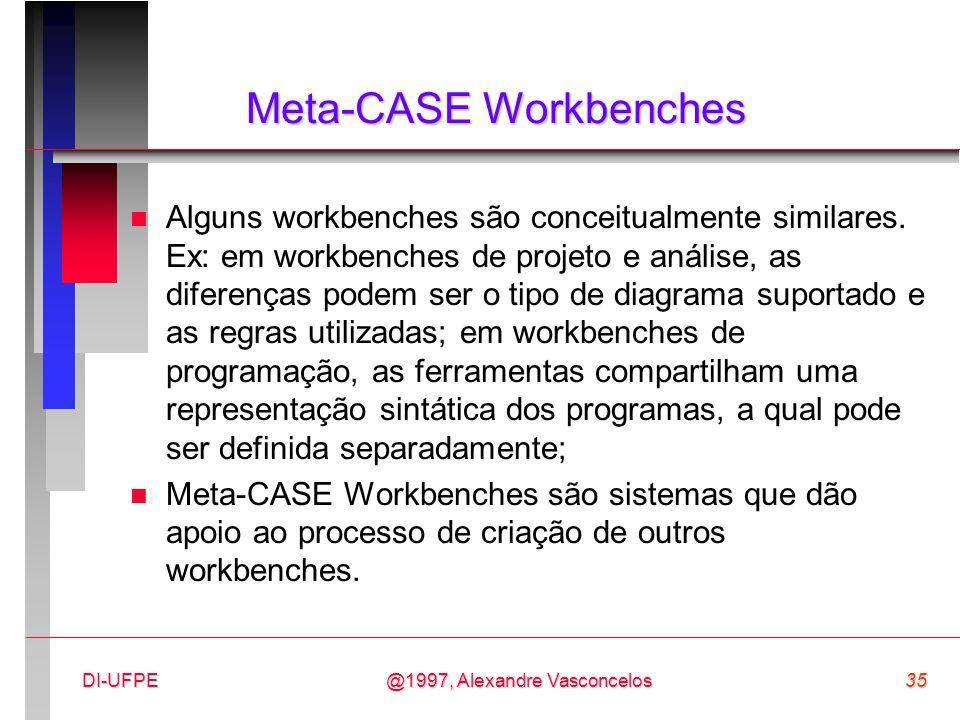 Meta-CASE Workbenches