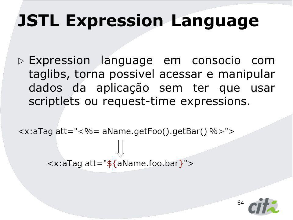 JSTL Expression Language