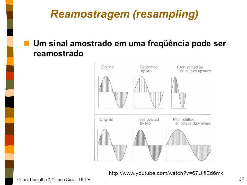 Reamostragem (resampling)