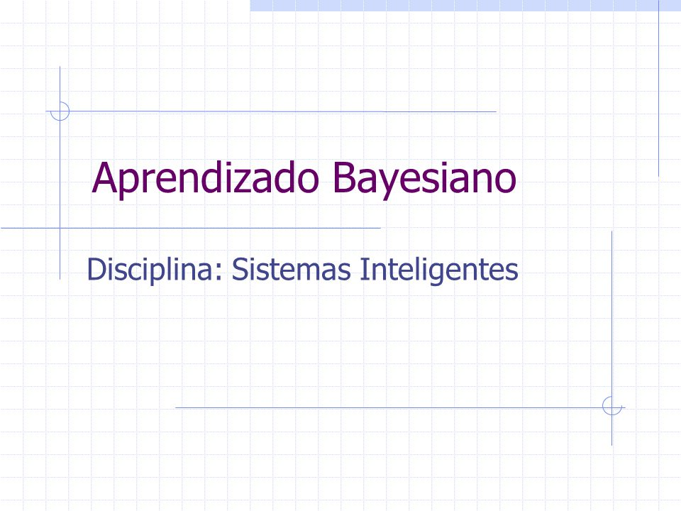 Aprendizado Bayesiano
