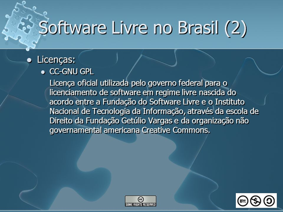 Software Livre no Brasil (2)