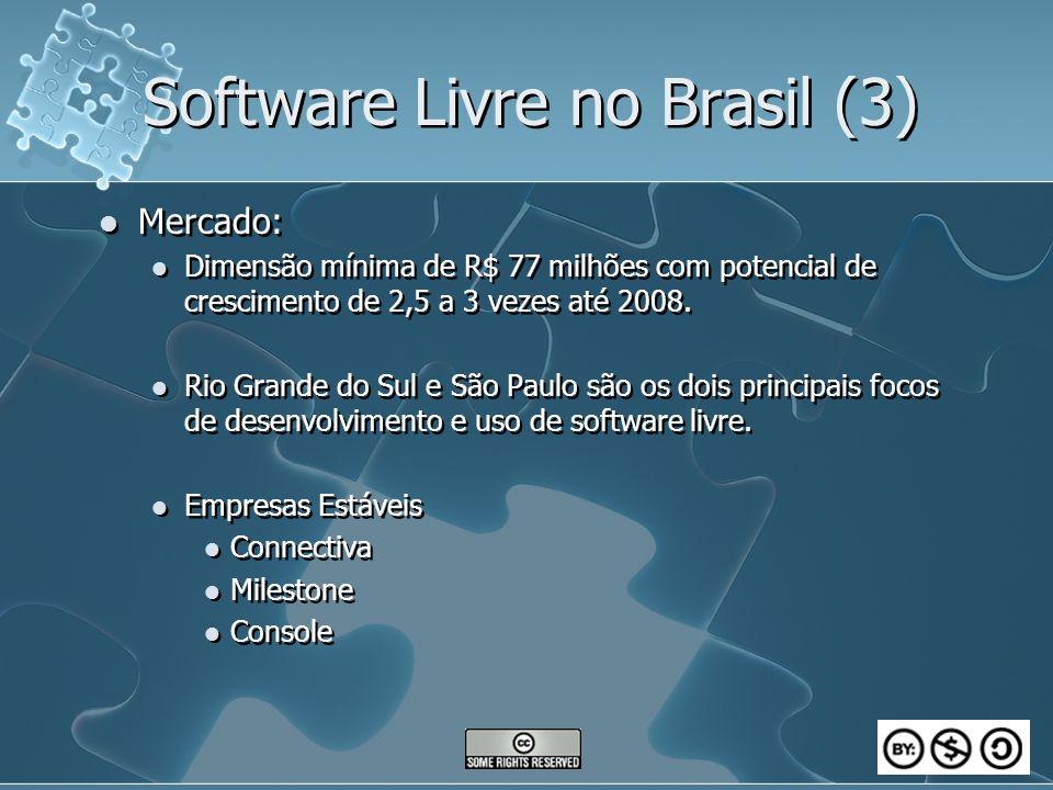 Software Livre no Brasil (3)