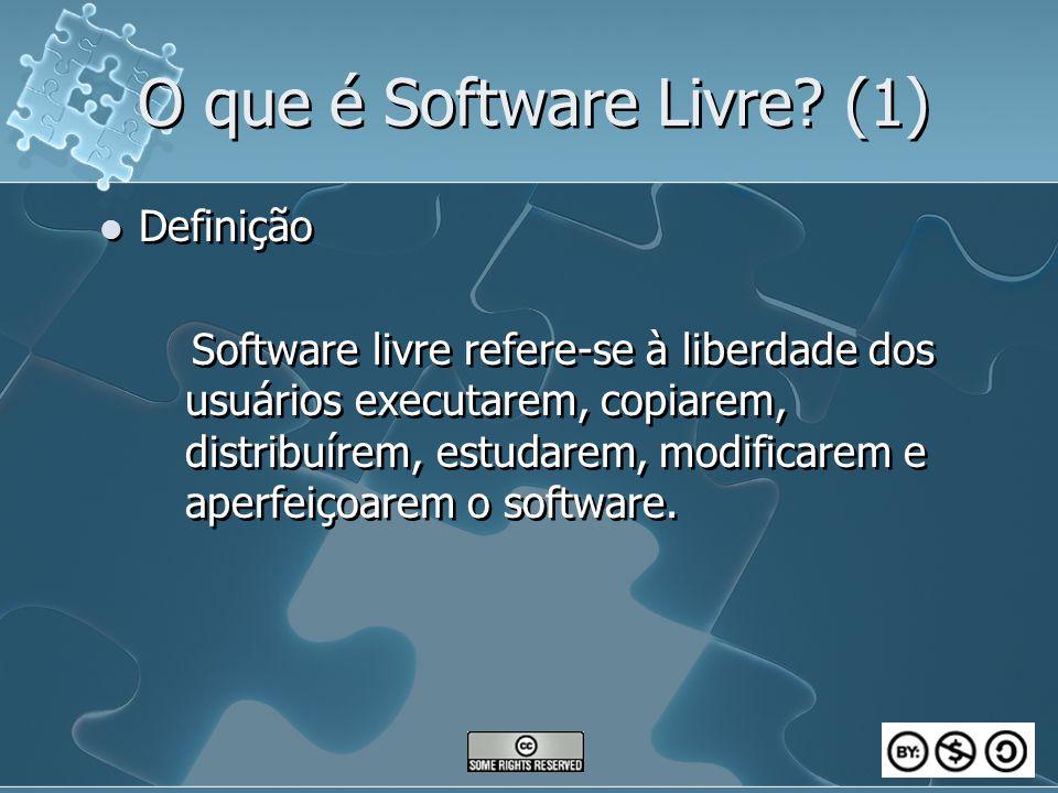 O que é Software Livre (1)