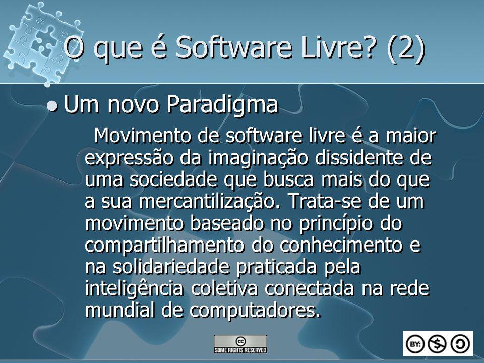 O que é Software Livre (2)