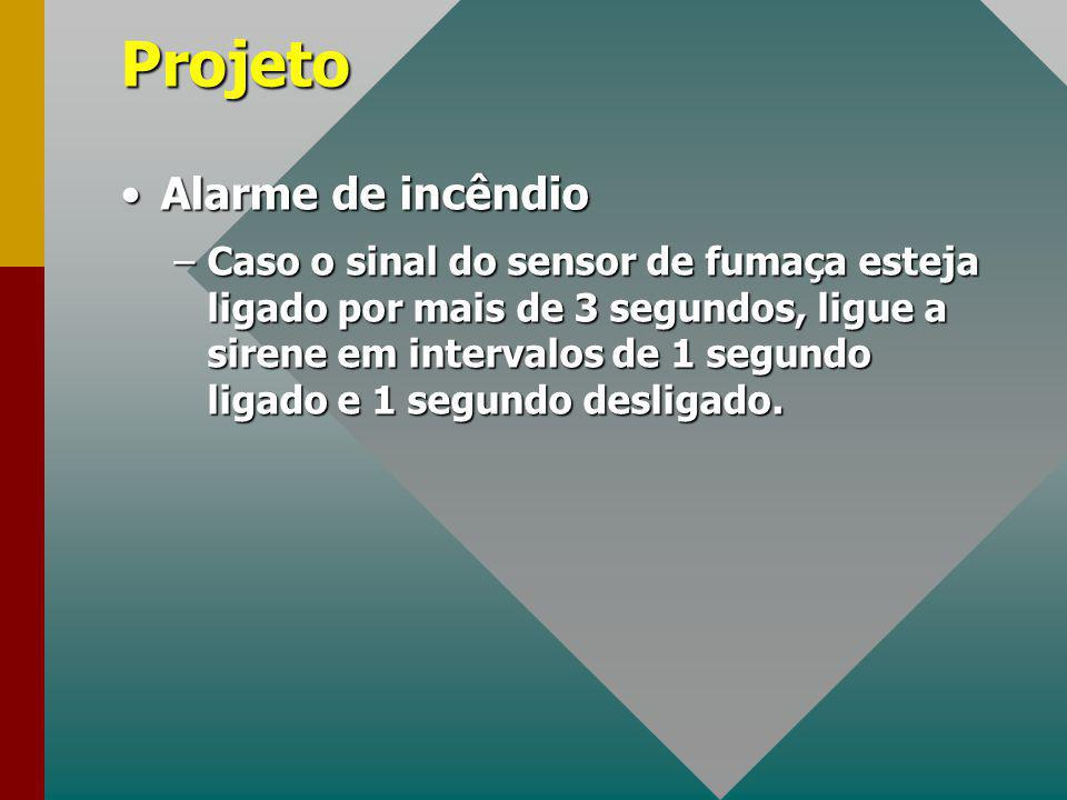 Projeto Alarme de incêndio