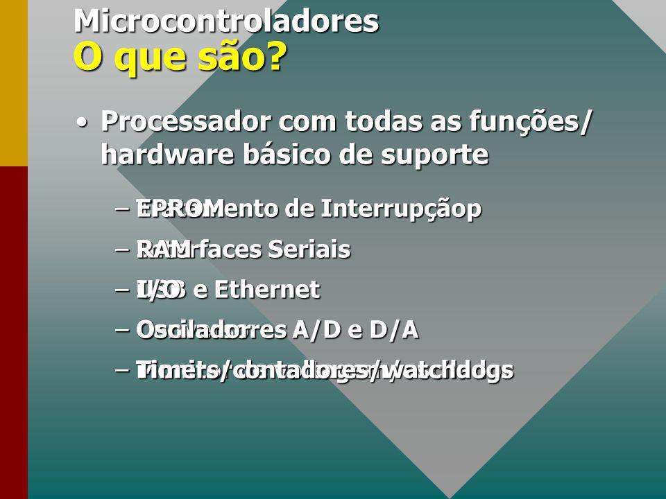 Microcontroladores O que são