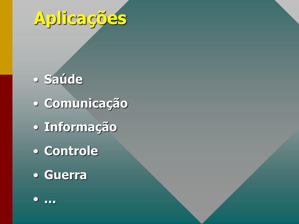 Aplicações Saúde Comunicação Informação Controle Guerra ...
