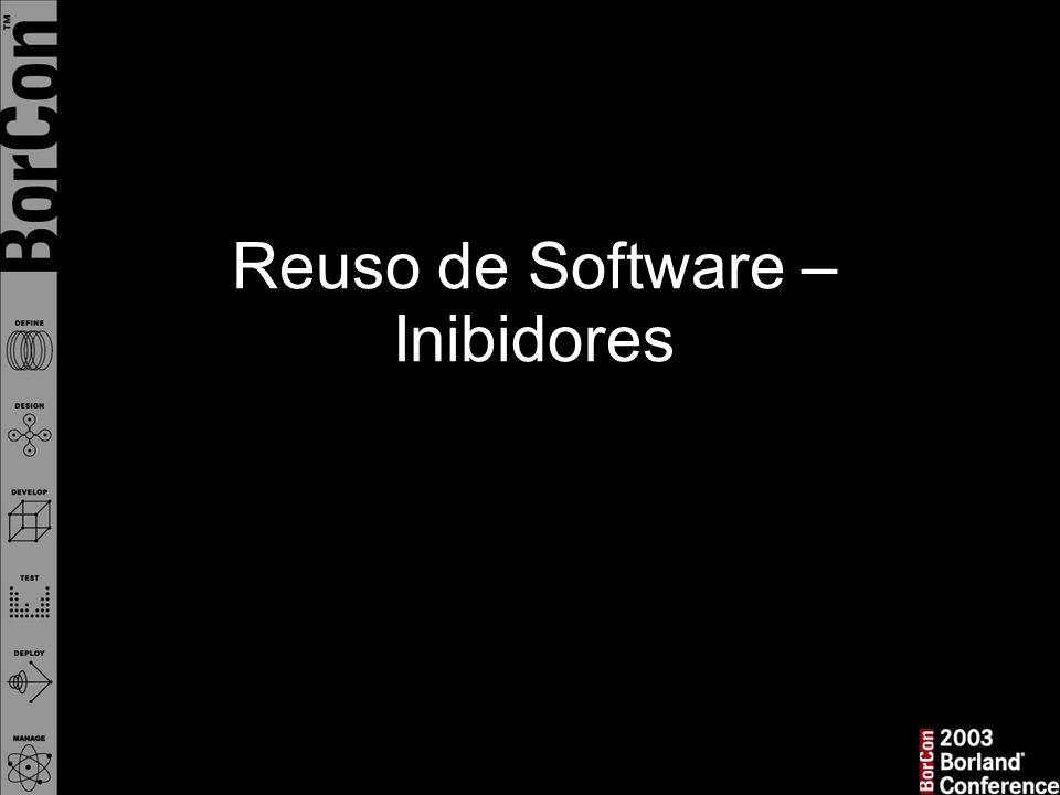 Reuso de Software – Inibidores