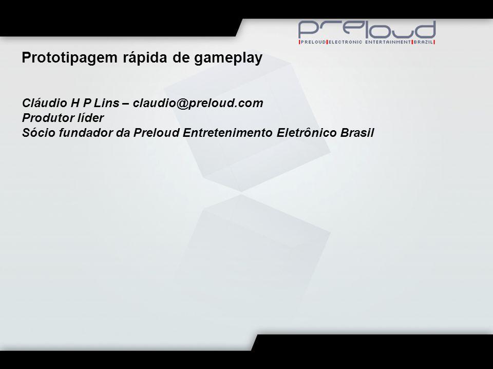 Prototipagem rápida de gameplay