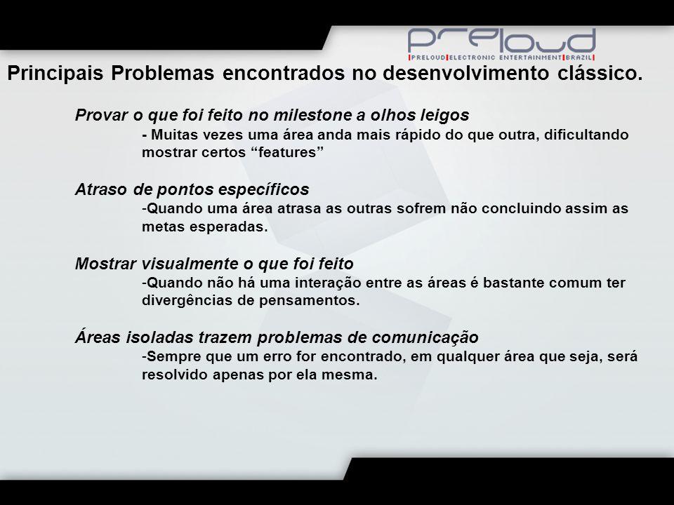 Principais Problemas encontrados no desenvolvimento clássico.