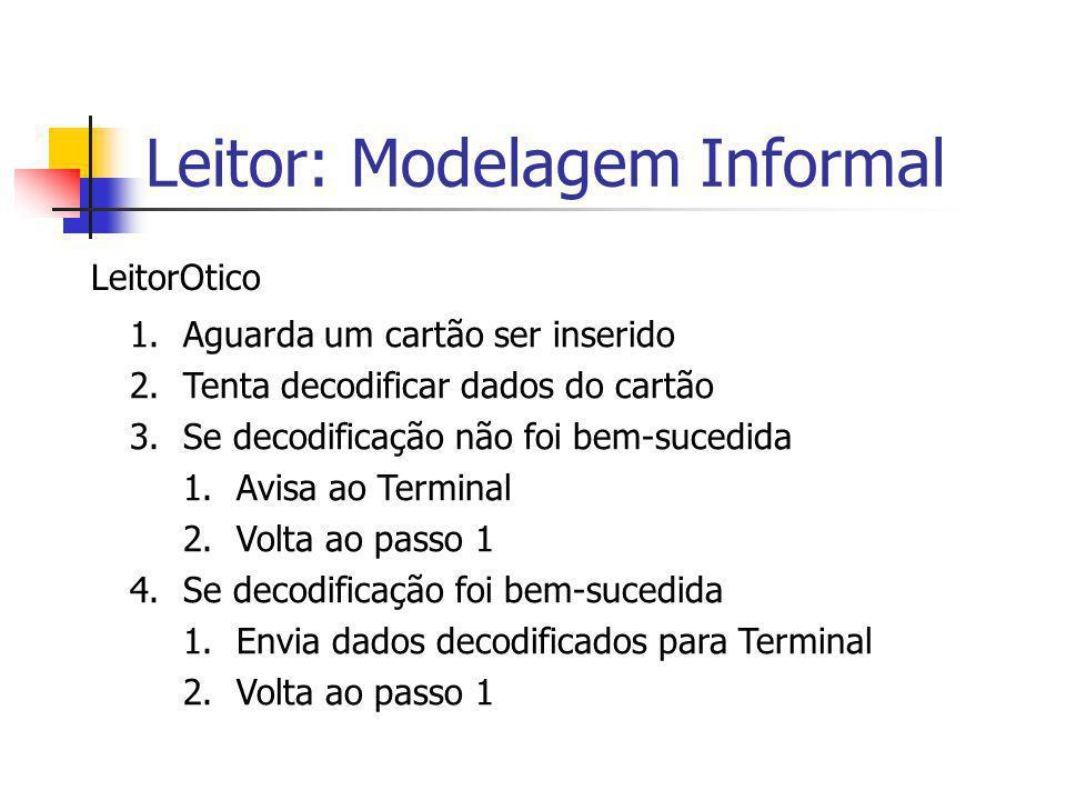 Leitor: Modelagem Informal