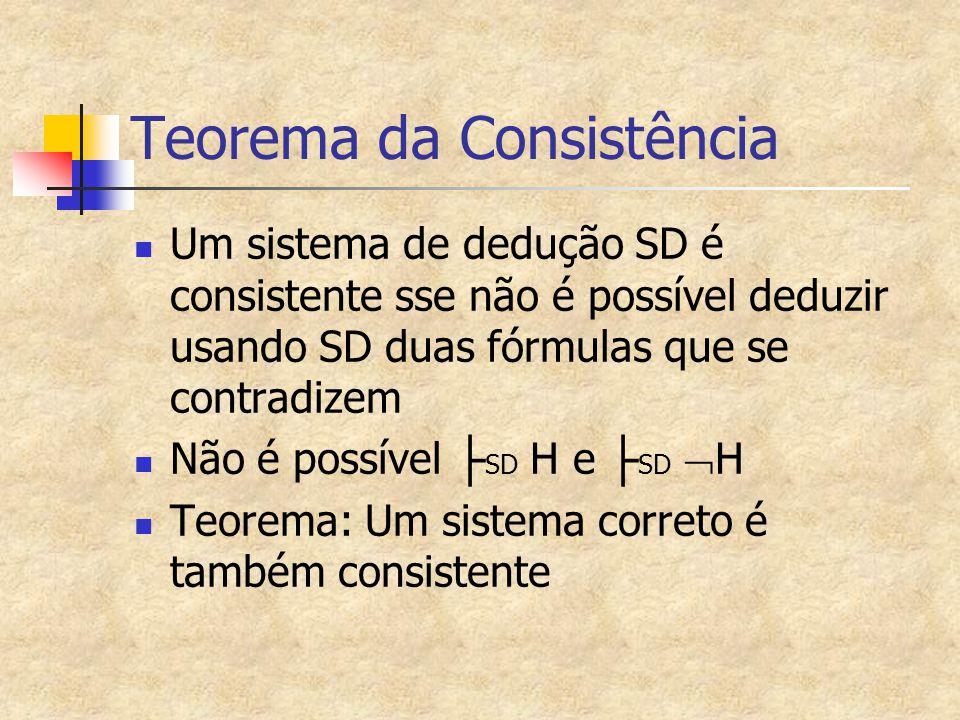 Teorema da Consistência