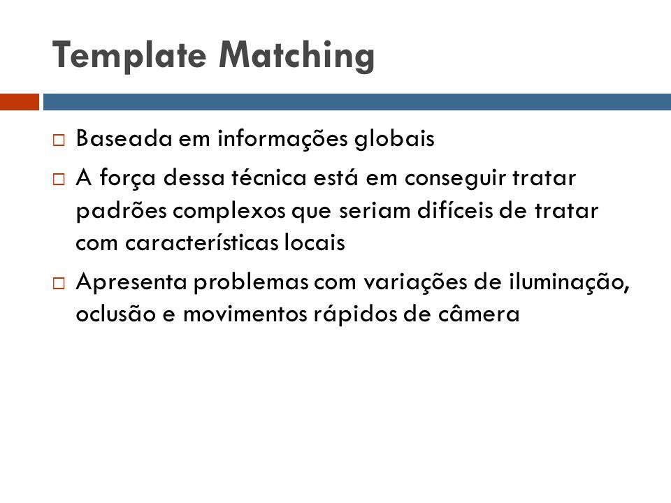 Template Matching Baseada em informações globais
