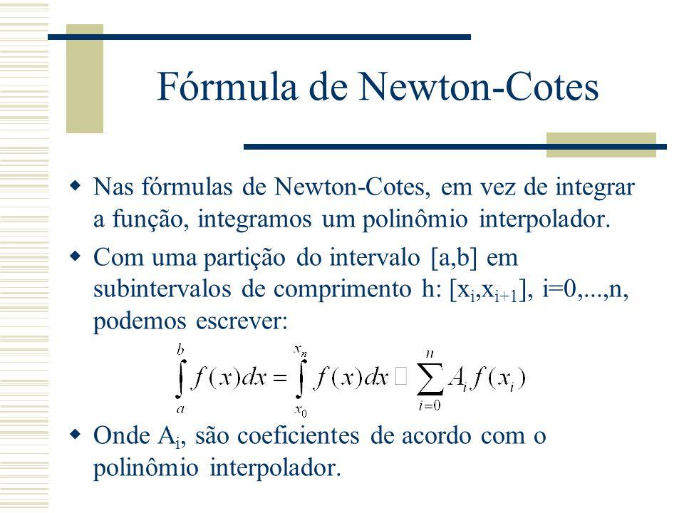 Fórmula de Newton-Cotes
