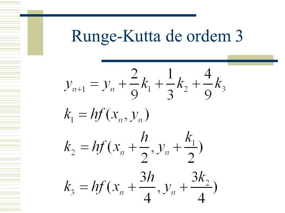 Runge-Kutta de ordem 3