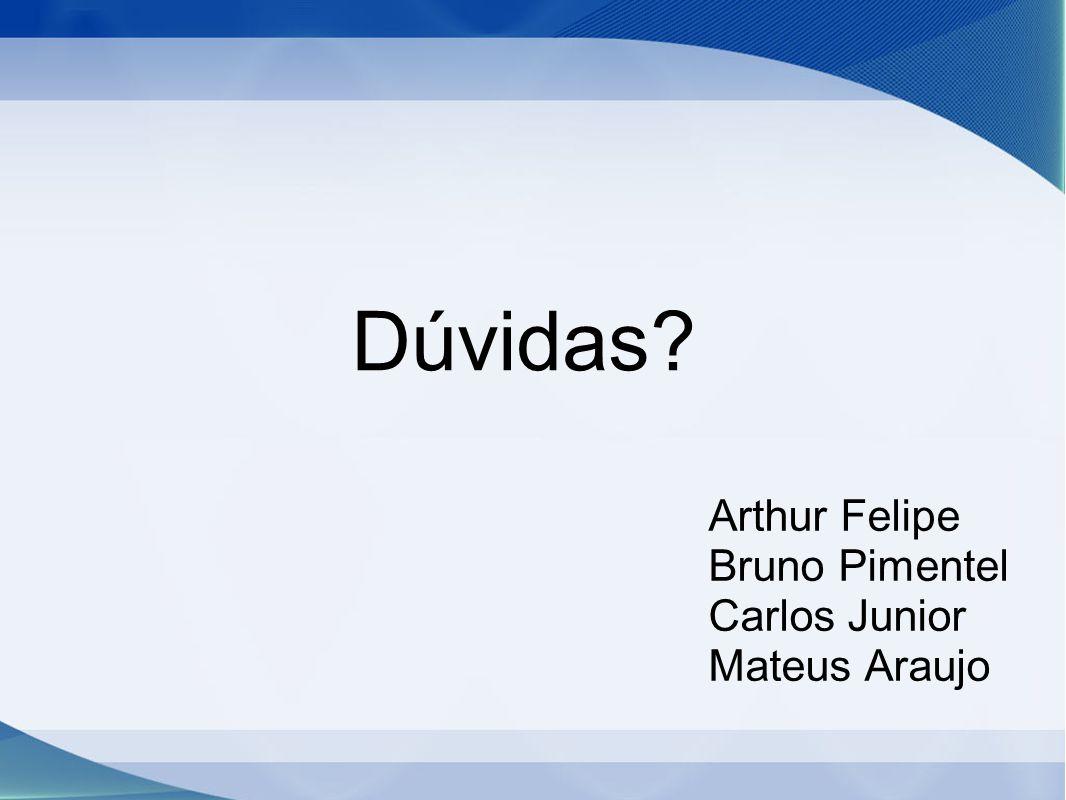 Arthur Felipe Bruno Pimentel Carlos Junior Mateus Araujo
