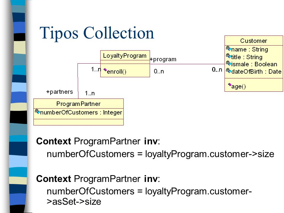 Tipos Collection Context ProgramPartner inv: