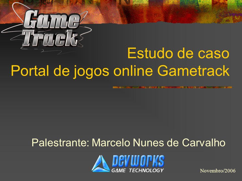 Estudo de caso Portal de jogos online Gametrack