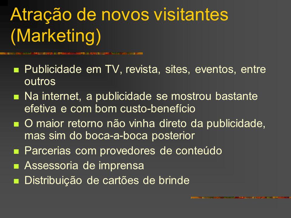 Atração de novos visitantes (Marketing)
