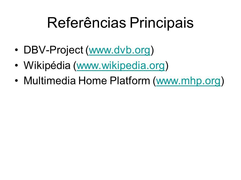 Referências Principais