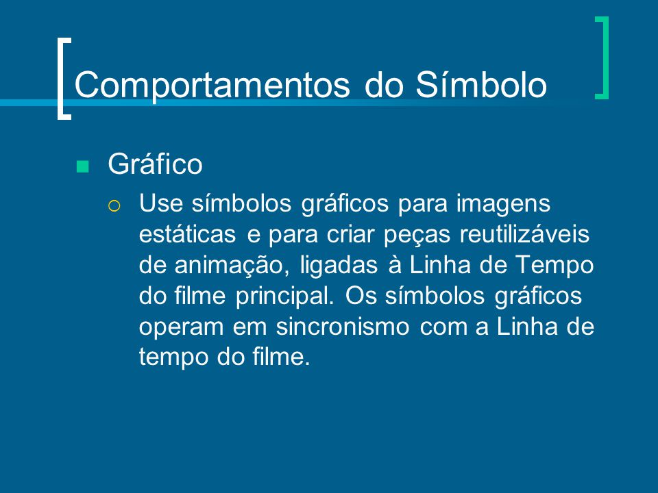 Comportamentos do Símbolo