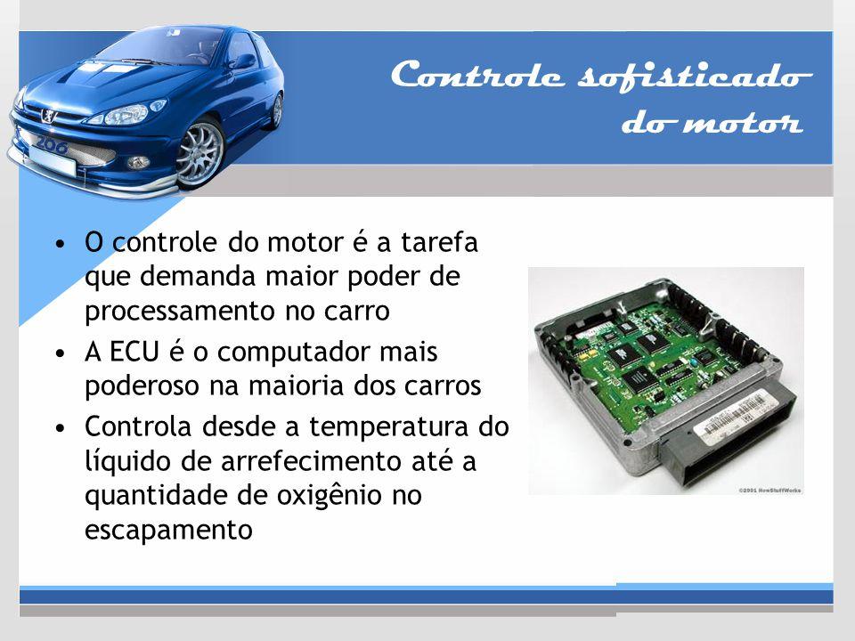 Controle sofisticado do motor